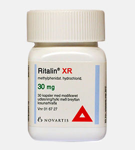 Ritalin (Methylphenidate) by Novartis